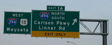 394/494 Sign